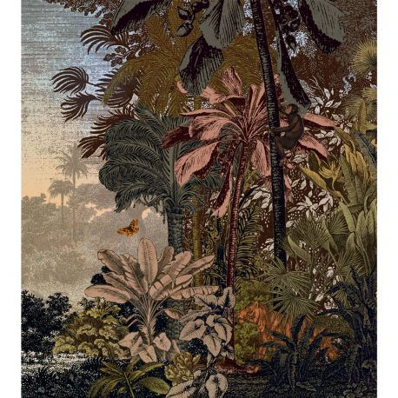Panoramique Fancy Landscape marron clair kaki - BEAUTY FULL IMAGE 2 - Caselio - BFM102452173