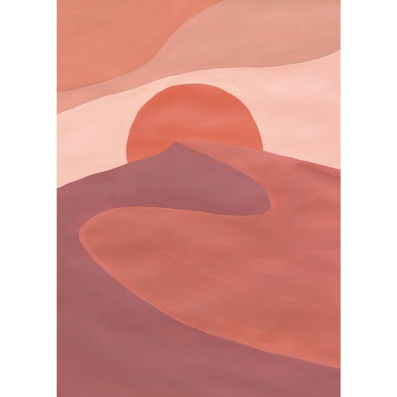 Panoramique Sunset Desert rose - BEAUTY FULL IMAGE 2 - Caselio - BFM102544044