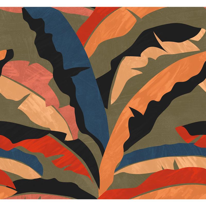 Panoramique Plumosa multicouleurs - BEAUTY FULL IMAGE 2 - Caselio - BFM102588370