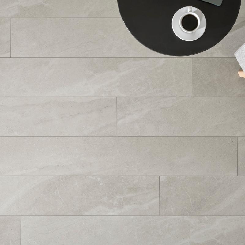 """Lame céramique clipsable """"Katla 50CERA0471C"""" beige clair - Ceratouch - CORETEC"""