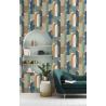 Papier peint Arche bleu - Rasch - 480016