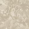 Papier peint Naiv Leaves clair - Rasch - 500752