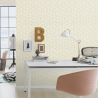 Papier peint Feuilles Safari beige - KALAHARI - Rasch - 704624