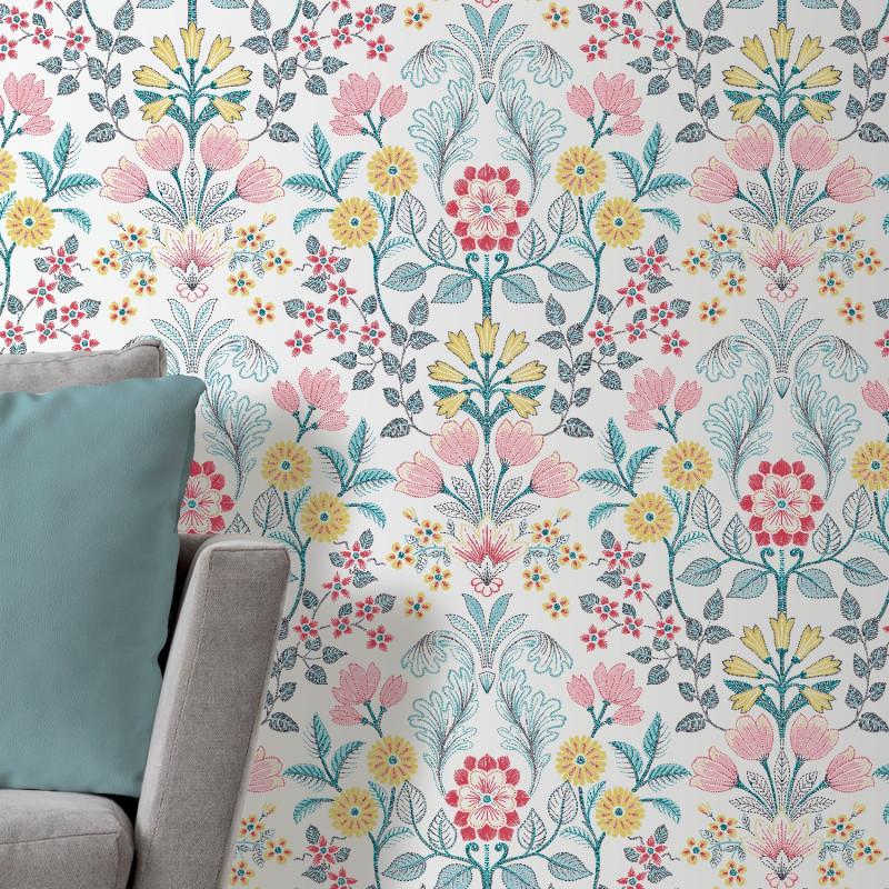 Papier peint Floral multico - Ugepa - 573120