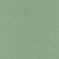 Papier peint Linen uni vert de gris - SUNNY DAY - Caselio - SNY68527190