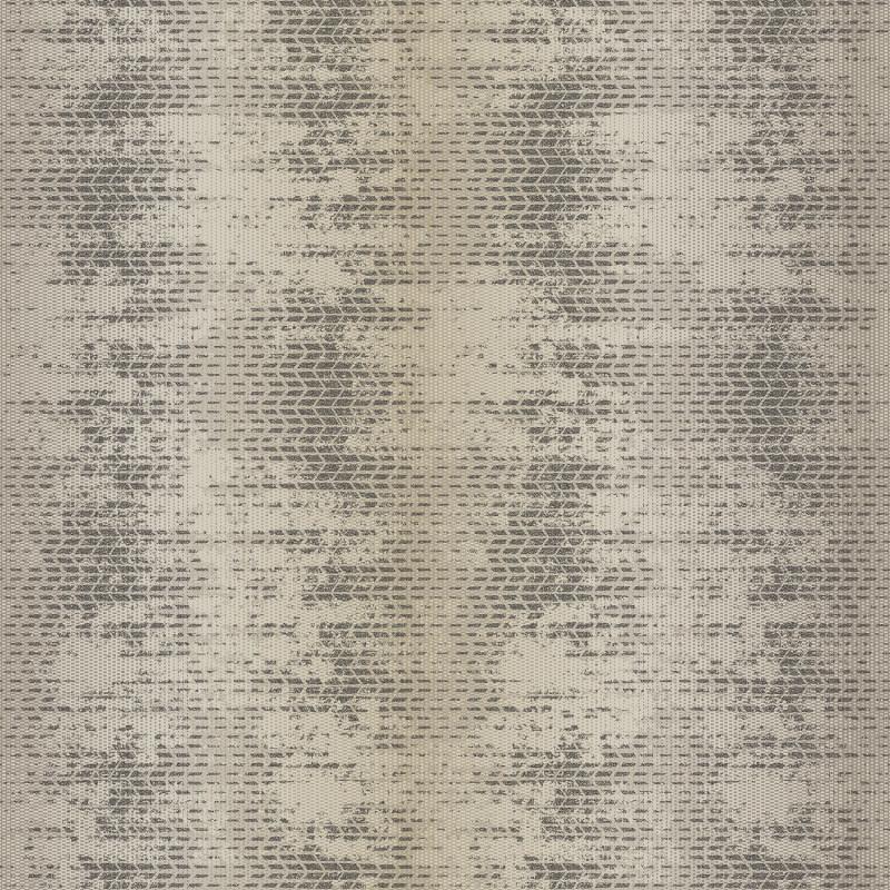 Papier peint Tissage taupe et noir - BAMAKO - Lutèce - G78287