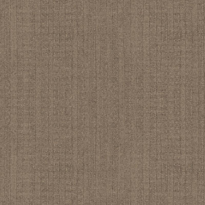 Papier peint Rayure Végétale marron - BAMAKO - Lutèce - G78320
