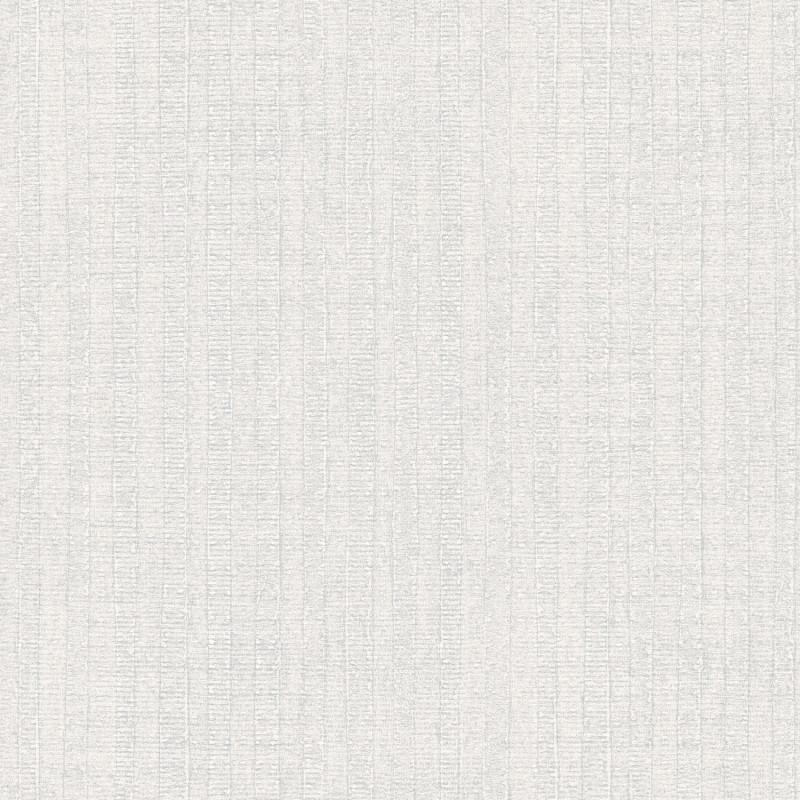 Papier peint Rayure Végétale gris - BAMAKO - Lutèce - G78324