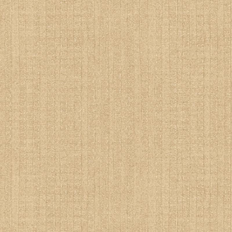 Papier peint Rayure Végétale beige doré  - BAMAKO - Lutèce - G78328