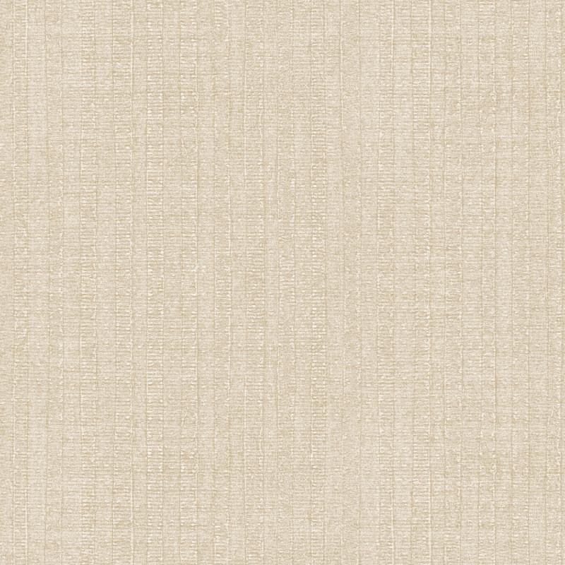 Papier peint Rayure Végétale beige - BAMAKO - Lutèce - G78319