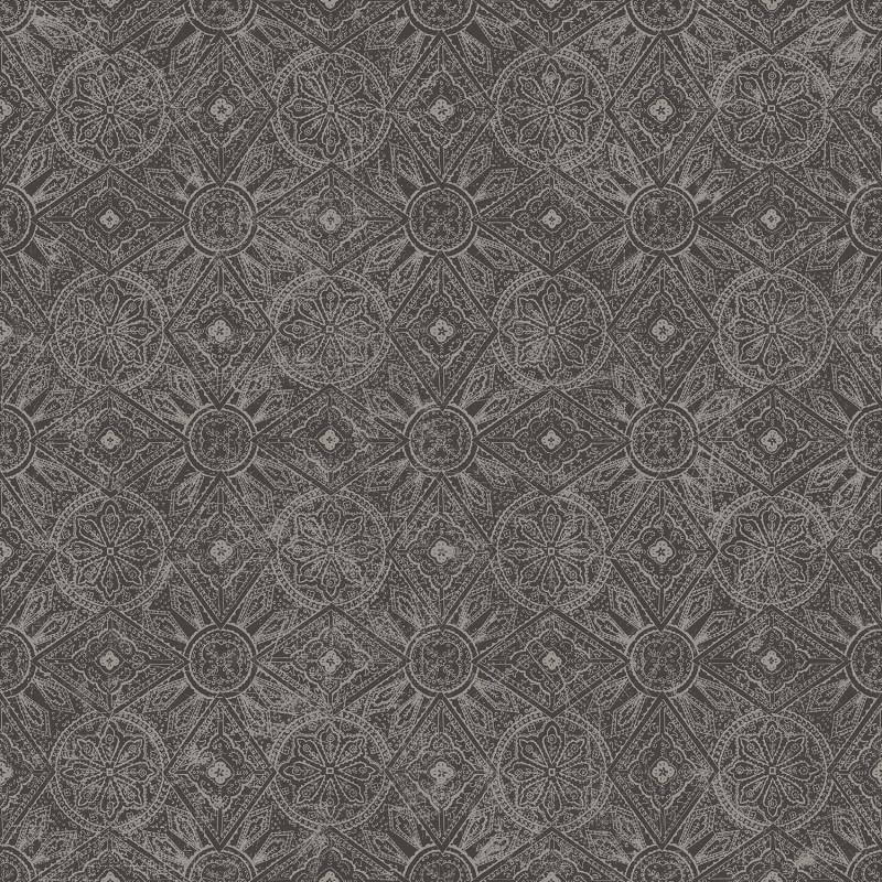 Papier peint Maroc Géo carbonne - BAMAKO - Lutèce - G78316