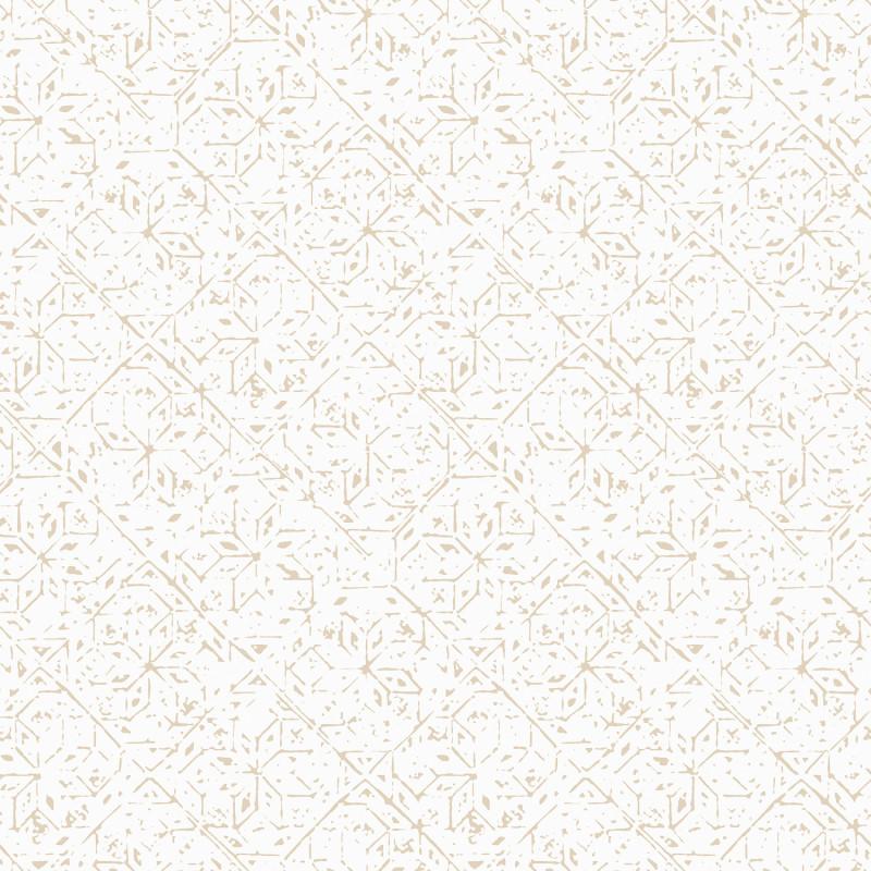 Papier peint Carreau Ciment naturel - BAMAKO - Lutèce - G78338