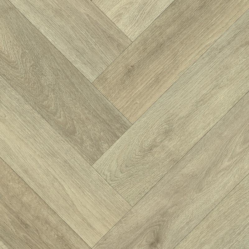 Sol PVC - Patagonia 555 chevron clair - Ultimate Wood IVC - rouleau 4M