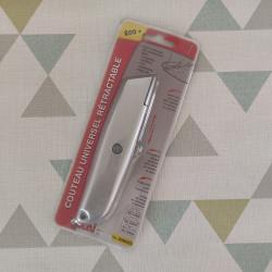 Couteau Universel Rétractable - outil de découpe pour revêtement de sol - OCAI