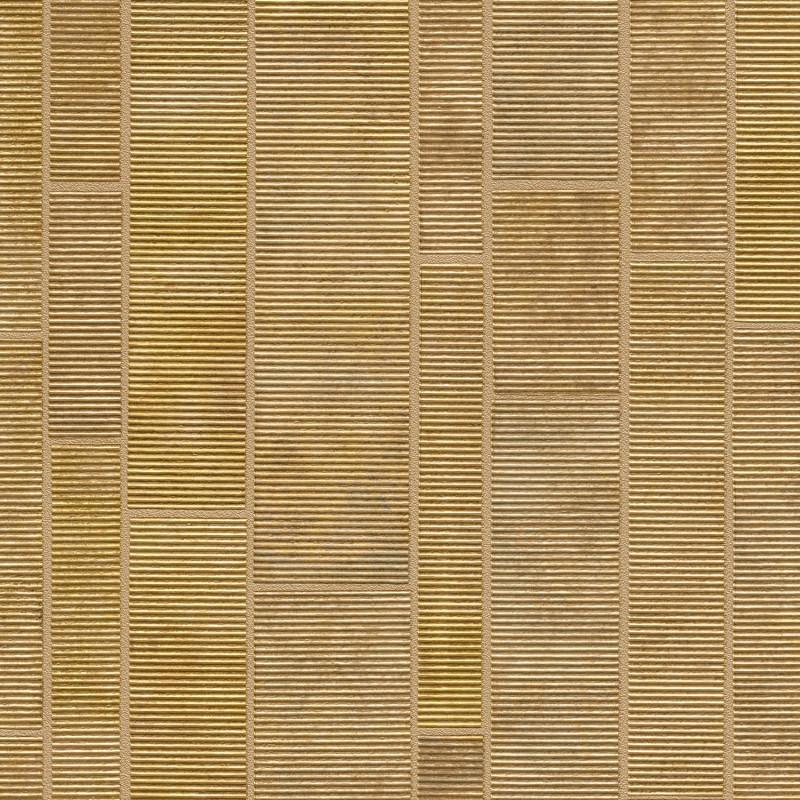 Papier peint Dalles En Pierre ocre - FACTORY IV - Rasch - 428223