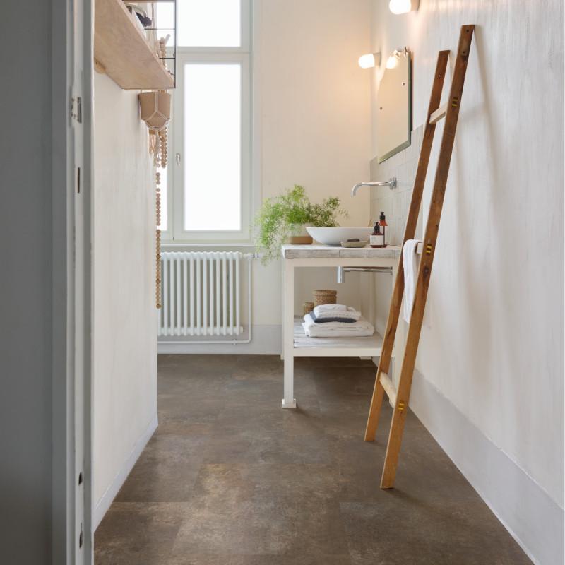 """Dalle PVC clipsable """"Cosmic Copper 67 - 50LVT1567"""" - Essentials Tile CORETEC"""