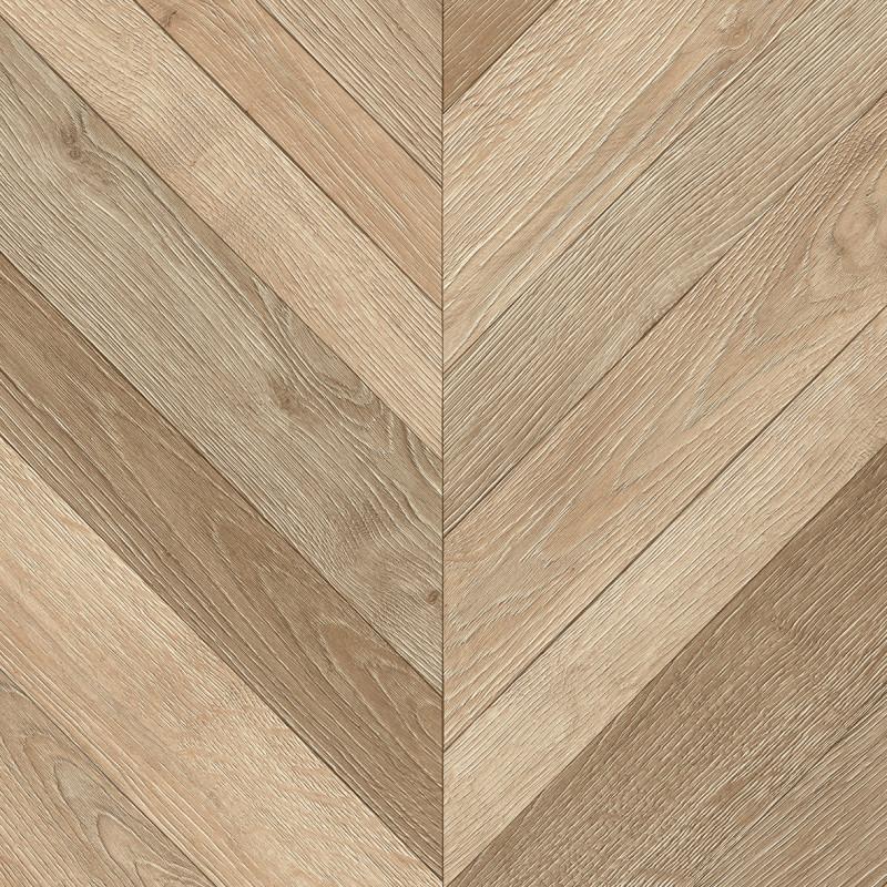 Sol PVC - Pamera 537 chevron clair - Ultimate Wood IVC - rouleau 4M