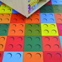 Sol PVC - BRICK Multicolor - Iconik Confort TARKETT - rouleau 2M