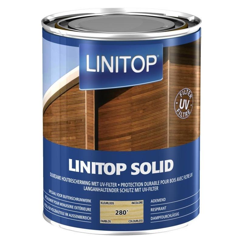 LINITOP SOLID 280 incolore - Lasure de protection décorative conditions extrêmes