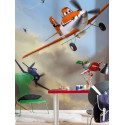 Panoramique PLANES DUSTY AND FRIENDS collection Disney - Komar