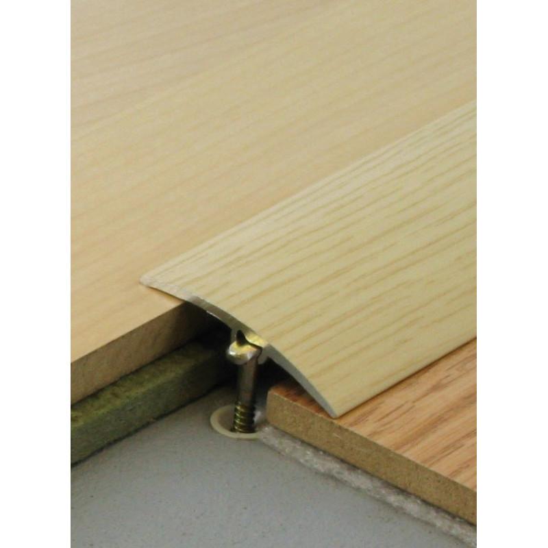 0,93mx41mm  - Barre de seuil finition bois - fixation invisible multi-niveaux plaxés Harmony - DINAC