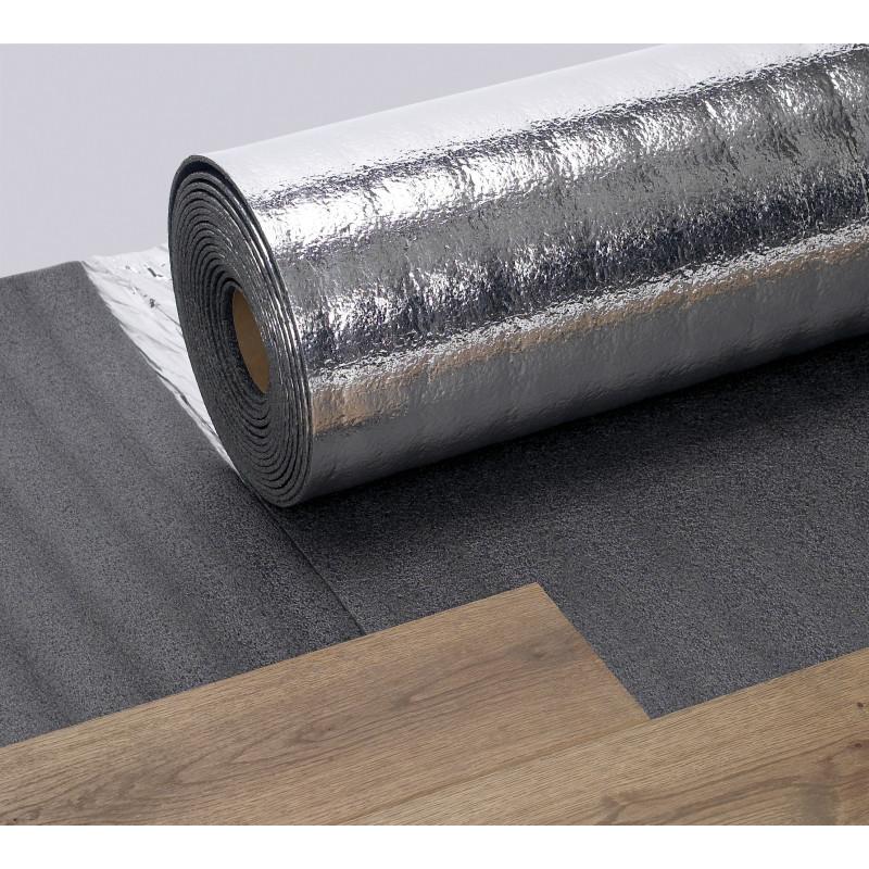Sous-couche SILVERFOAM isolation phonique - spéciale parquet et sol stratifié - THEARD