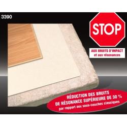 Sous-couche ISOLSOUND HD 1,5mm - THEARD. Isolation phonique pour parquet et stratifié.