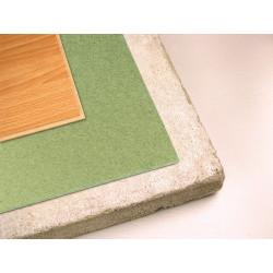 Sous-couche en dalle FIBROMANT 4mm - THEARD. Isolation pour parquets et revêtements de sol stratifié.