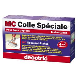 Colle Haut de Gamme pour papiers peints spéciaux et vinyles. MC COLLE SPECIALE 200gr - DECOTRIC