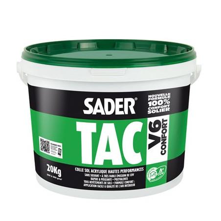 Colle Sol acrylique Hautes performances SADER TAC V6 Bostik - 1kg