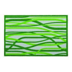 "Paillasson intérieur ""Whispering Grass vert vif"" - Lars Contzen ASTRA 50x78"