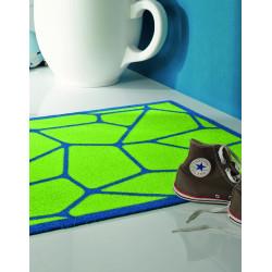 Tapis de propreté - paillasson bleu et vert MICRO - Lars Contzen
