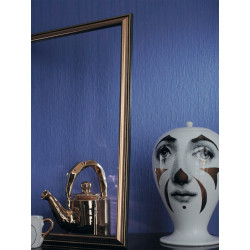 Papier peint uni bleu - Dix - Caselio