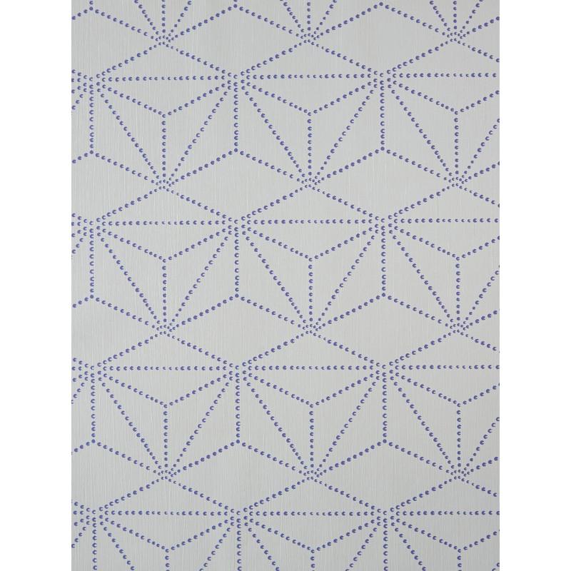 Papier peint à motifs diamants - Dix - Caselio