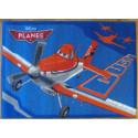 Tapis Disney Enfant - Planes : Dusty - 95x133cm