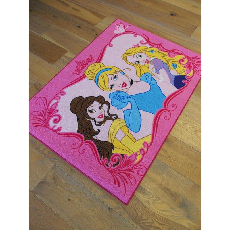 Tapis Disney Enfant - Princesses : Timeless Elegance - 95x133cm