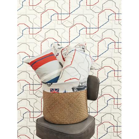 Papier peint à motif Underground - Only Boys - Caselio