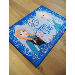 Tapis Disney Enfant - Reine des Neiges : Anna & Elsa - 95x133cm