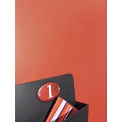 Papier peint uni rouge - Only Boys - Caselio