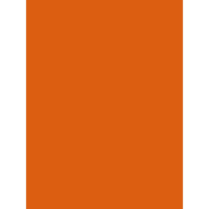 Papier peint uni orange - Only Boys - Caselio