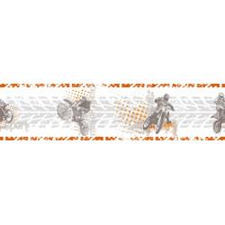 Frise papier peint Motocross - Only Boys - Caselio