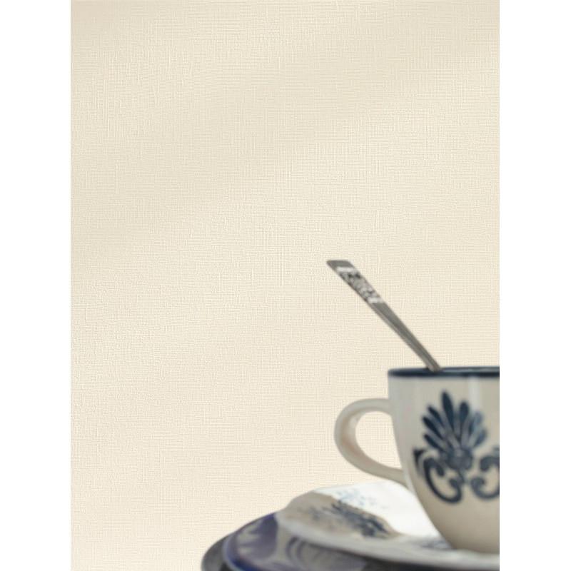 Papier peint uni blanc cassé - Cavaillon - Caselio