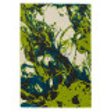 Tapis abstrait vert - Lugano Astra