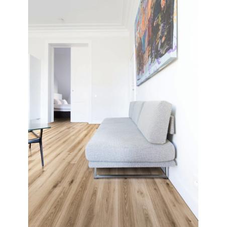 BALTERIO - Lames stratifiées à clipser - Xpert Pro GOOD Flat 7 mm - chêne poivre blanc
