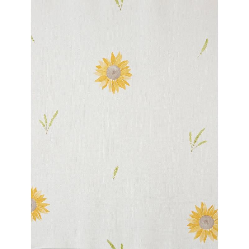 Papier peint à motif Tournesol beige- Cavaillon - Caselio