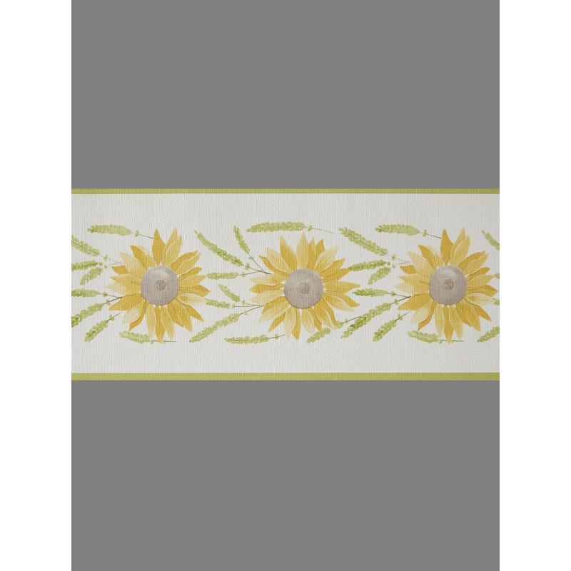 Frise Tournesol jaune et vert - CAVAILLON - Caselio - CAV64932170
