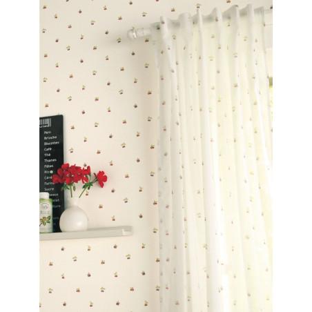 Papier peint Semi fruits rouge et vert - CAVAILLON - Caselio - CAV64978077