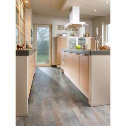 MANIA Penthouse - Dalles vinyles PVC à clipser - Limestone nuances beige et marron