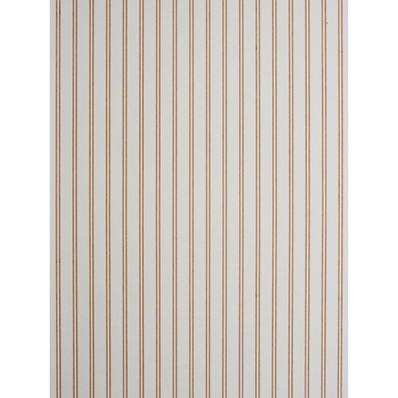 Papier peint à rayures marron clair - Chantilly - Casadeco