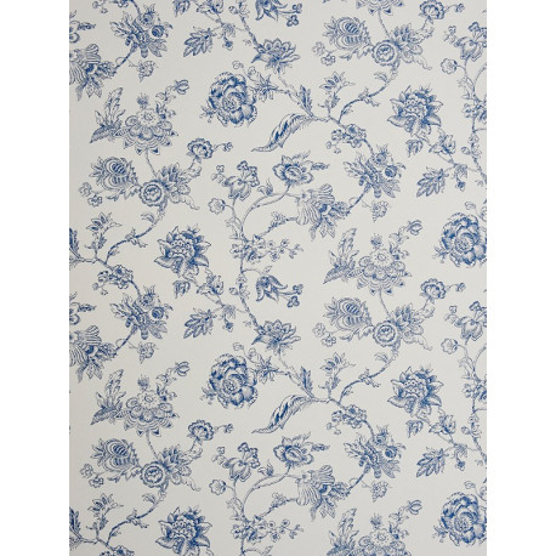 papier peint motifs fleurs bleu chantilly casadeco clicjedecore. Black Bedroom Furniture Sets. Home Design Ideas
